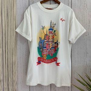 🔮Vintage Disney 25th Anniversary Tee👽